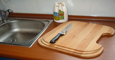 over-the-sink wood cutting boards
